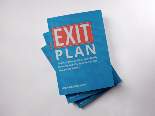 3 Exit Plan Books on top of one another