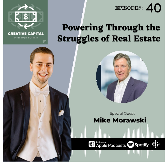 Mike Morawski as a guest on Podcast